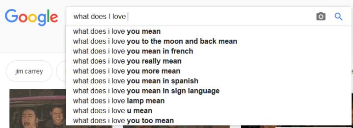 i love u mean